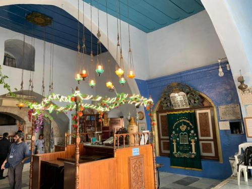 The shul of Rav Yosef Caro